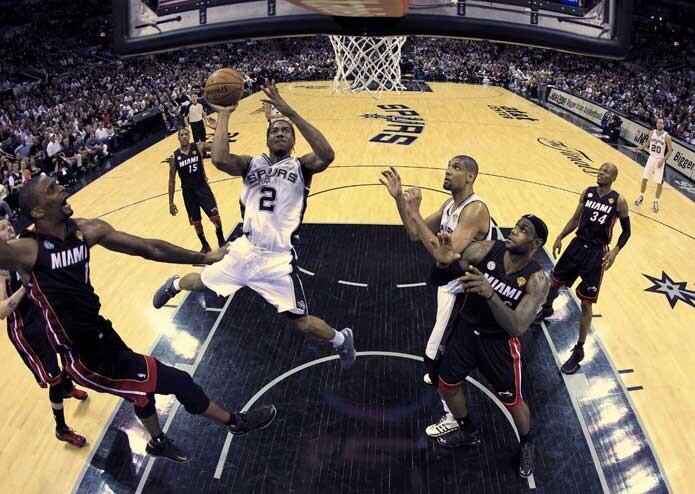 Finales de la NBA entre San Antonio Spurs y Miami Heat