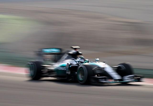 Nico Rosberg en los test de Barcelona