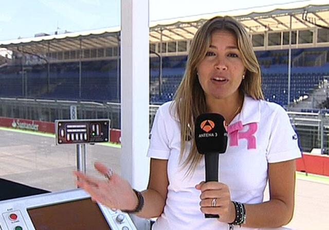 Nira Juanco deja Antena 3 pero no la Fórmula 1