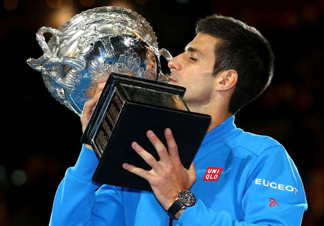 Djokovic, pentacampeón en Australia