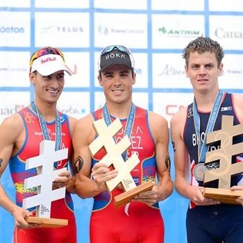 Javier Gómez Noya, tetracampeón del mundo de triatlón