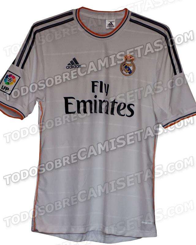 a4e93eb52219c Se filtra la posible camiseta del Real Madrid para la temporada 2013 14
