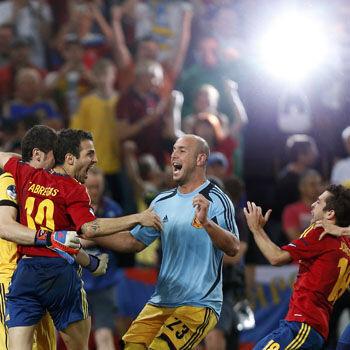La prórroga y los penaltis del Portugal España, lo más visto de la historia de la TV