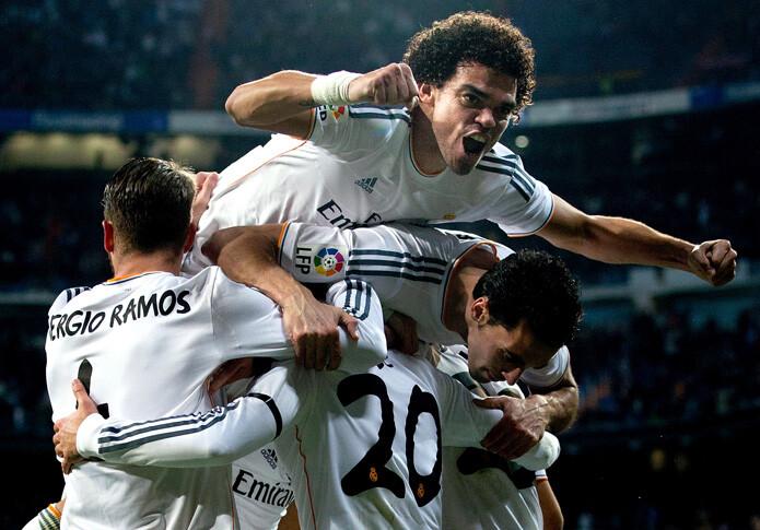 Real Madrid 3 - Atlético de Madrid 0