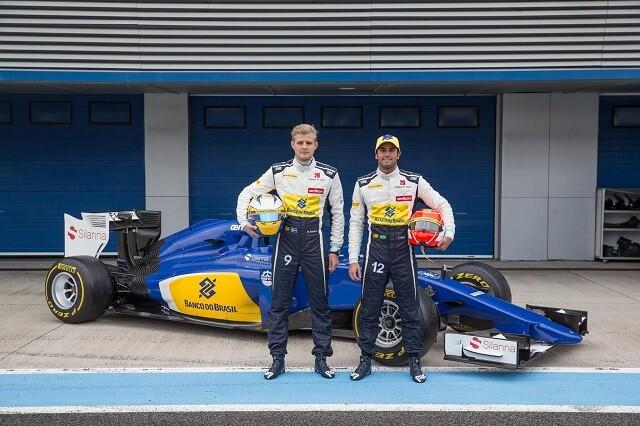 Felipe Nasr y Marcus Ericsson en Sauber