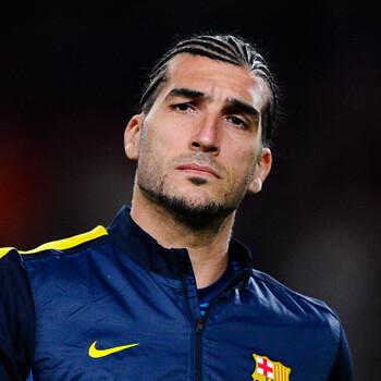 Pinto, portero del Barcelona