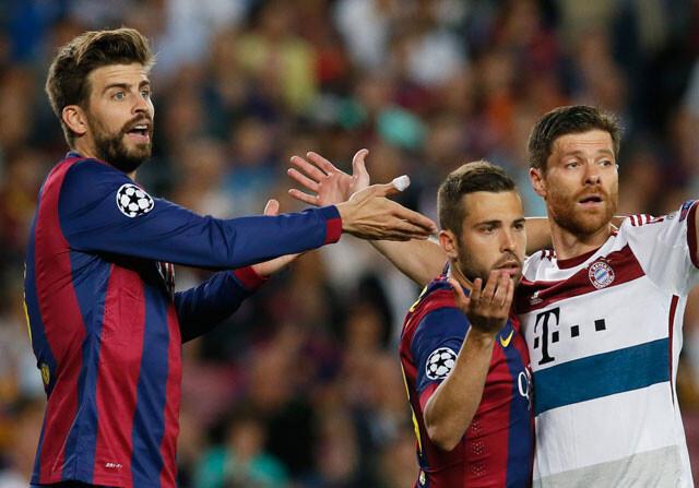 "Piqué: ""Si Messi está inspirado, es imparable"""