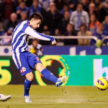 Pizzi, jugador del Deportivo