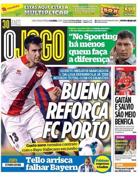 Alberto Bueno ya es nuevo jugador del Oporto, según O Jogo
