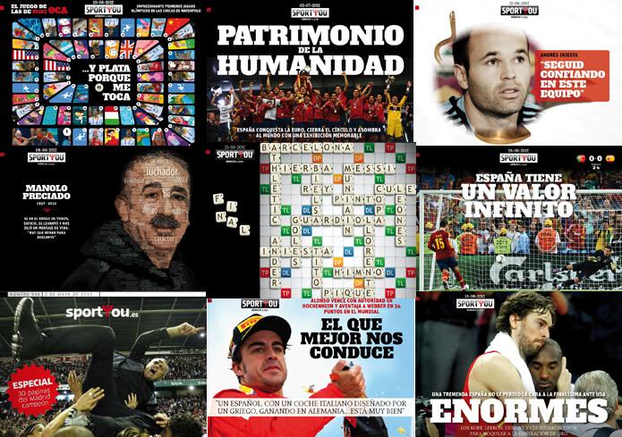 Las portadas del 2012