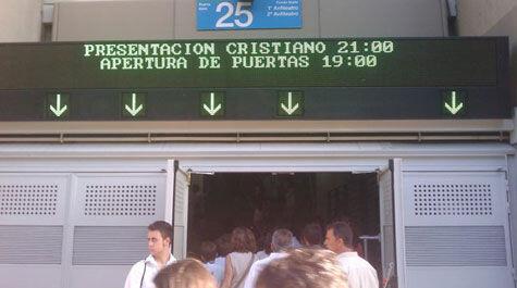 Cristiano ronaldo desborda el bernab u sportyou for Puerta 53 santiago bernabeu