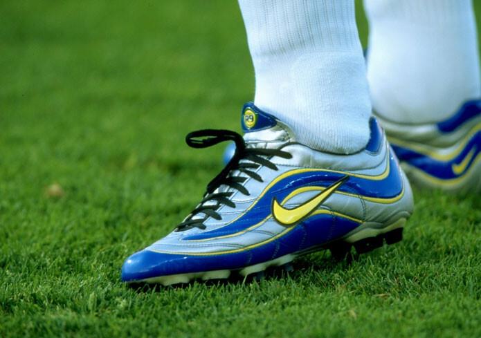 Botas clásicas: las Nike de Ronaldo en el Mundial 98