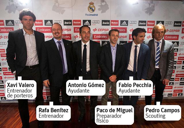 El equipo de Rafa Benítez