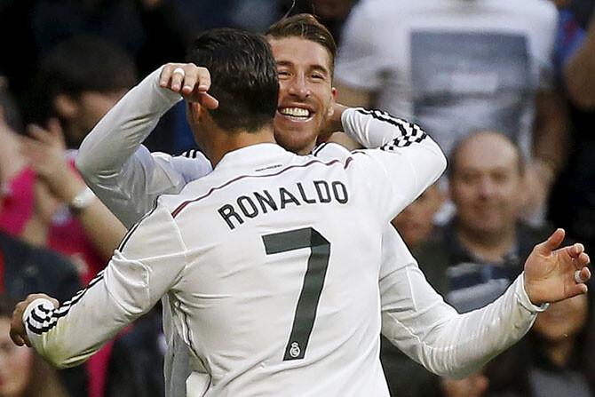 El Madrid gana al Málaga pidiendo