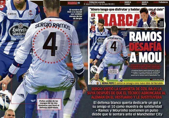 Camiseta Real Madrid Sergio Ramos