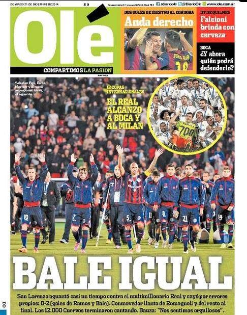 El Real Madrid, protagonista de la prensa internacional