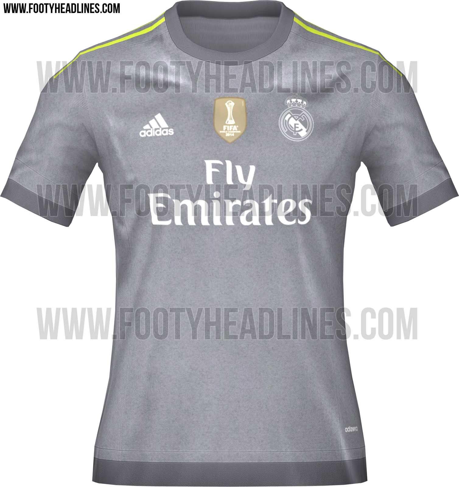 Las camisetas del Real Madrid de la temporada 2015-2016 - SPORTYOU c4eb5b62c38bc