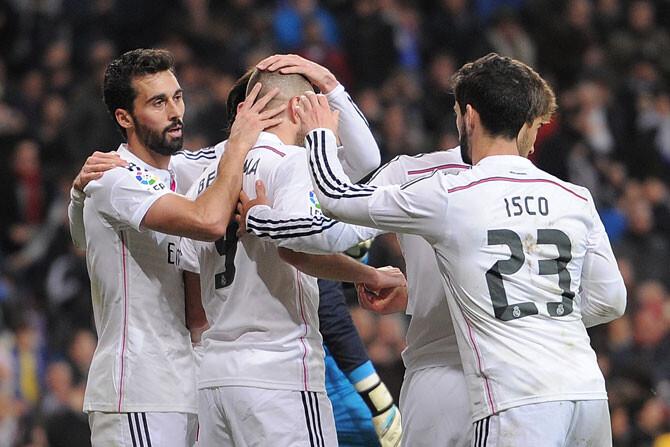 Cena de conjura del Real Madrid