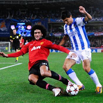 La Real empata con el Manchester United
