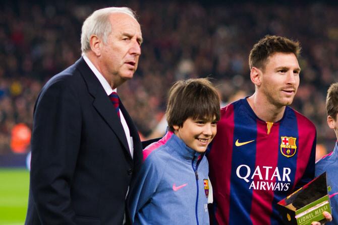 """Rexach: """"Messi comió más pizzas de las que debía el año pasado"""""""