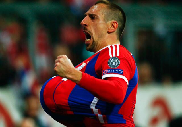 El Bayern hace un siete en el partido más corto de la Champions