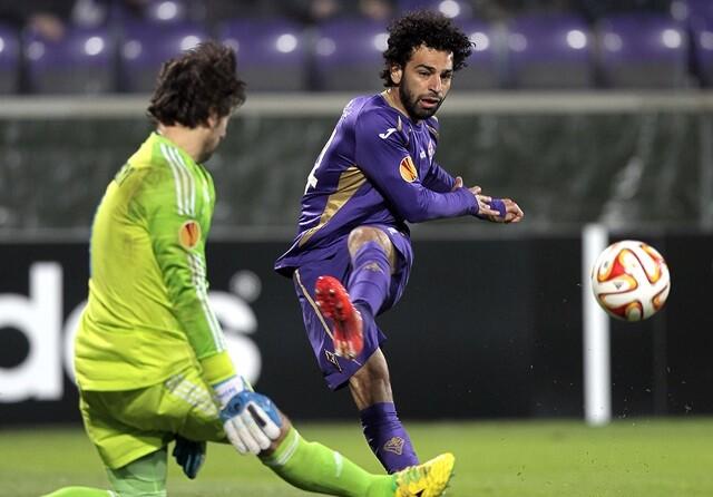 Mohamed Salah, jugador de la Roma