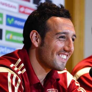 Santi Cazorla, del Arsenal