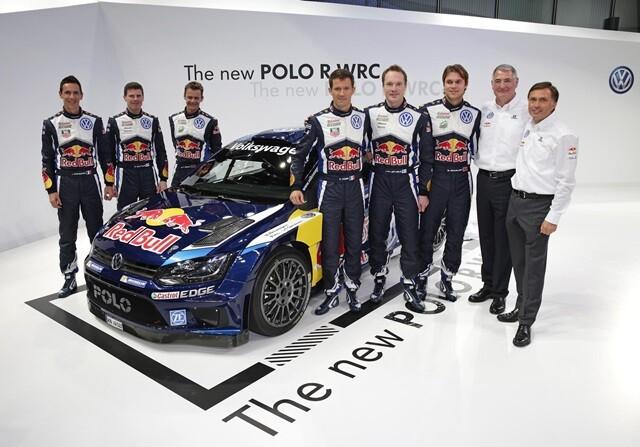 Sebastian Ogier VW POlo