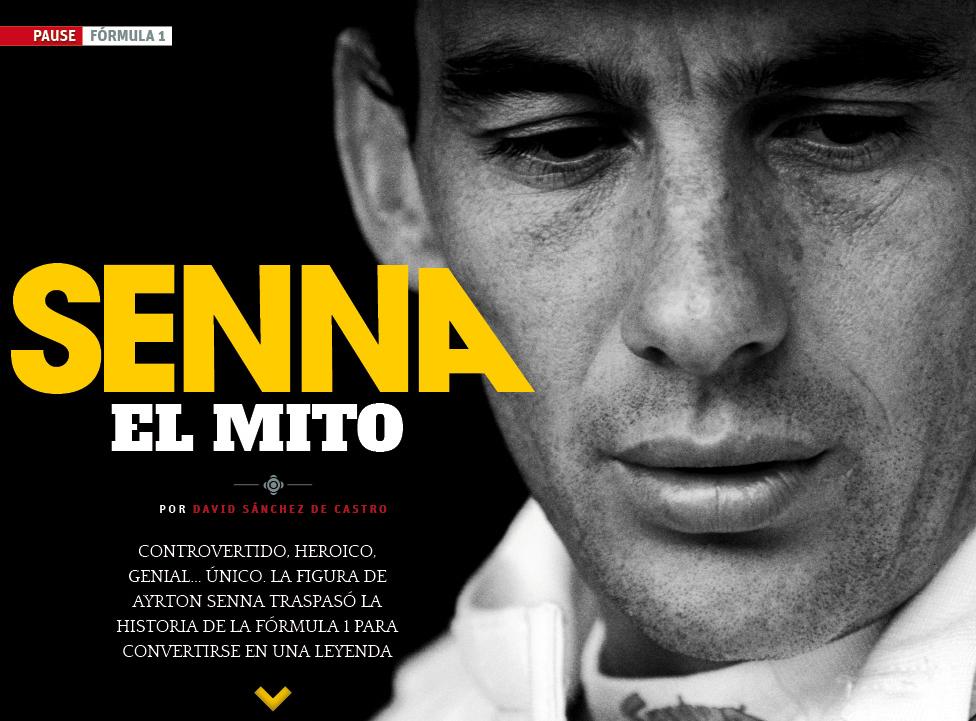 Senna, el mito