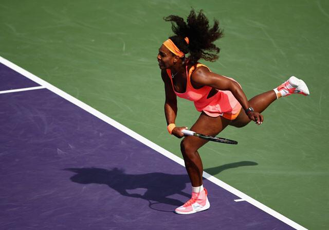 El puntazo de Serena Williams en Miami