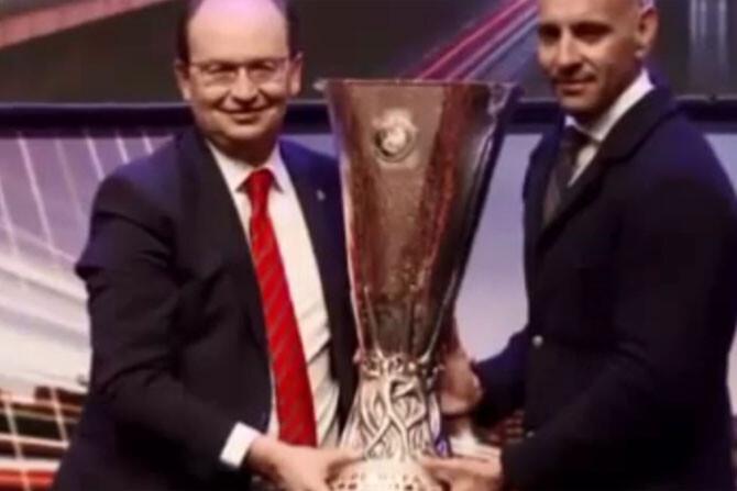 Guerra de videos entre el Sevilla y la Fiorentina en la Europa League