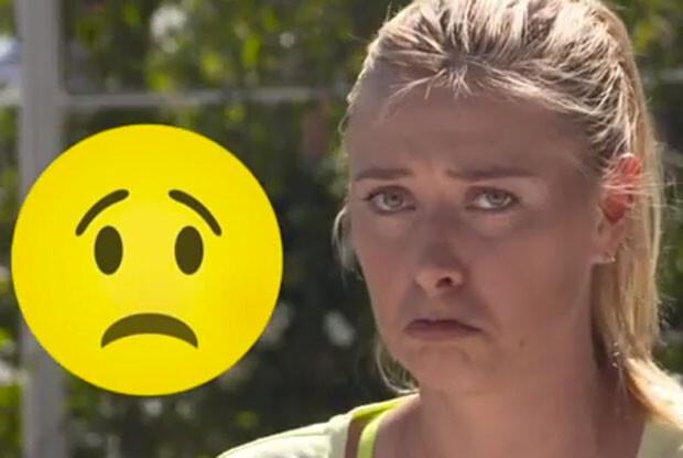 Sharapova imita a un emoji