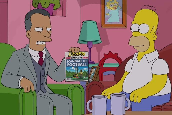 Los Simpsons ya predijeron la corrupción de la FIFA