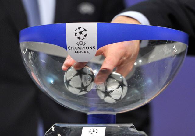Emparejamientos de octavos de final de la Champions League
