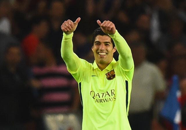 El auténtico Luis Suárez: goles en la Champions