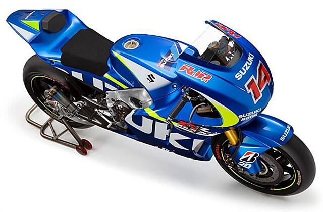 Suzuki regresa a MotoGP con Aleix Espargaró y Maverick Viñales