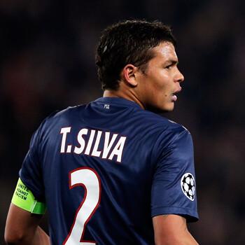Thiago Silva, jugador del PSG