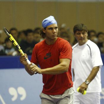 """Toni Nadal: """"En la Davis se pasa mucho tiempo en el vestuario con poca ropa"""""""