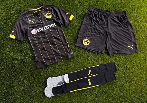 La segunda equipación del Borussia Dortmund 5ebf63e2efc3f