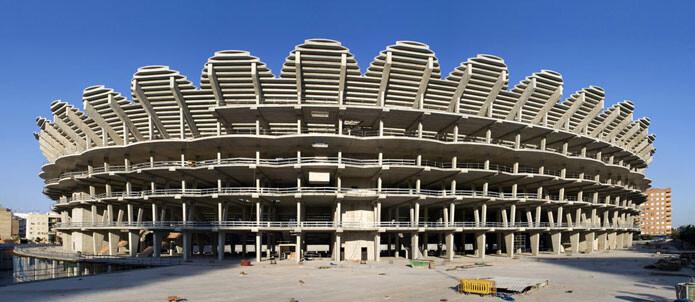 El nuevo estadio de Mestalla