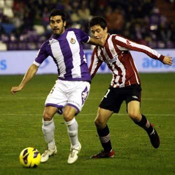 Partido entre Valladolid y Athletic
