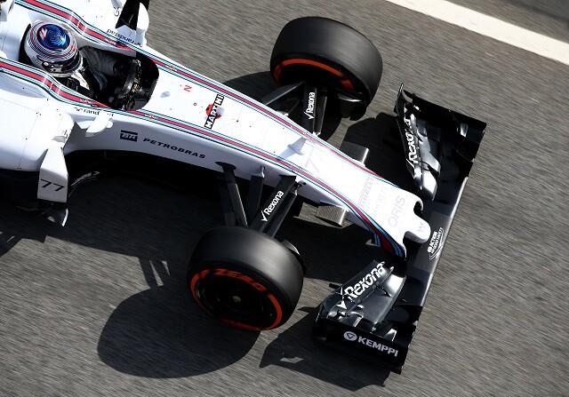 Williams domina la tabla de tiempos, Mercedes el ritmo de carrera