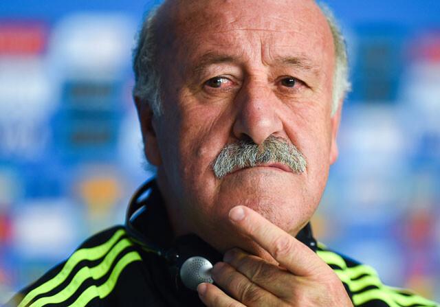 """Del Bosque pone """"la mano en el fuego por Villar"""""""