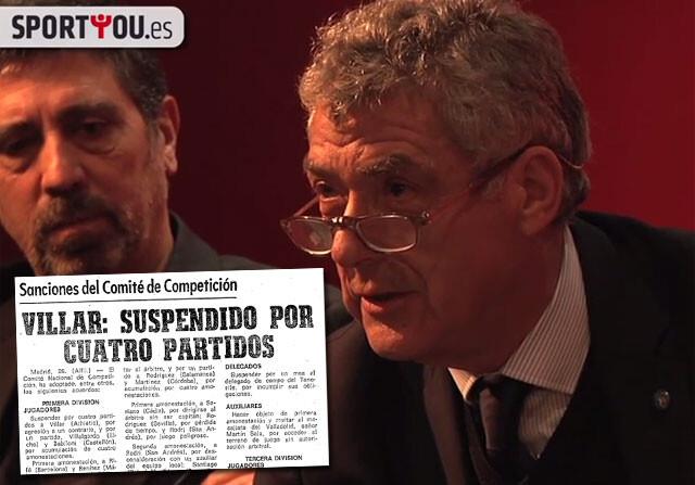 Villar explica su bofetada a Cruyff