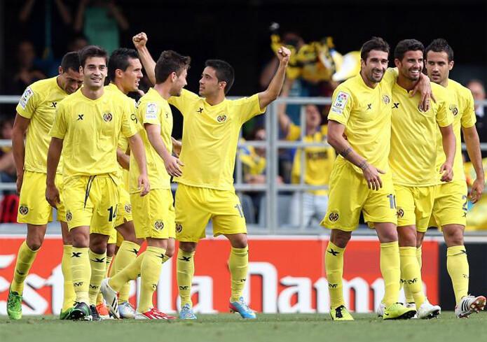 El Villarreal vuelve a su sitio