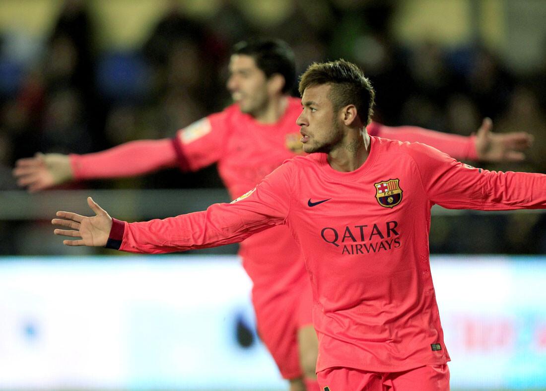 Las mejores imágenes del Villarreal - Barcelona