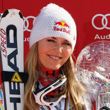 La esquiadora Lindsay Vonn