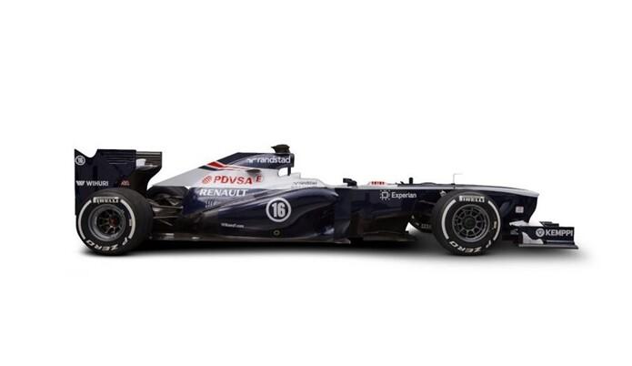 FOTO. El nuevo Williams FW35 de Pastor Maldonado y Valtteri Bottas