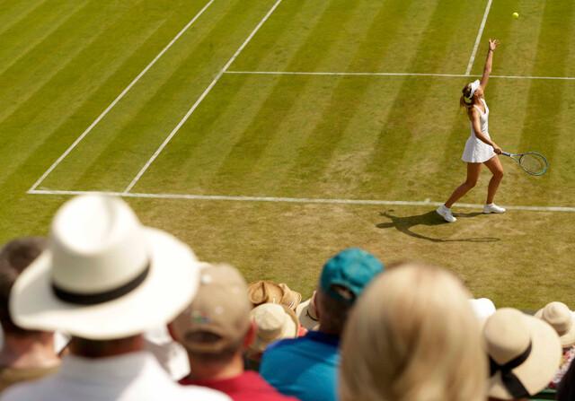 Wimbledon registra el día más caluroso de su historia