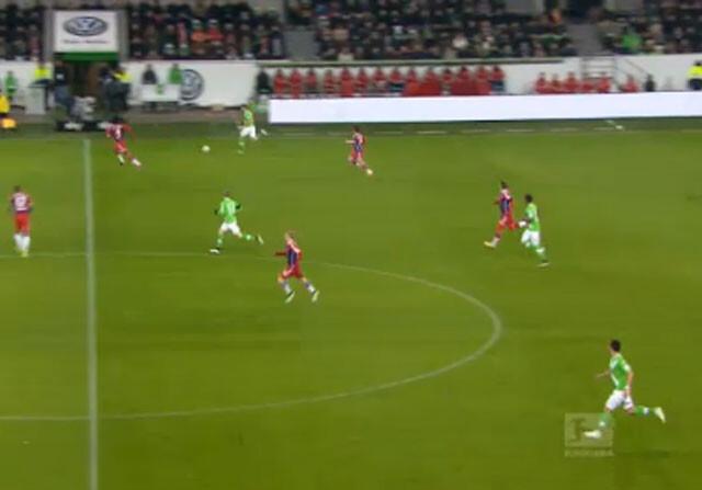 El Wolfsburgo golea al Bayern